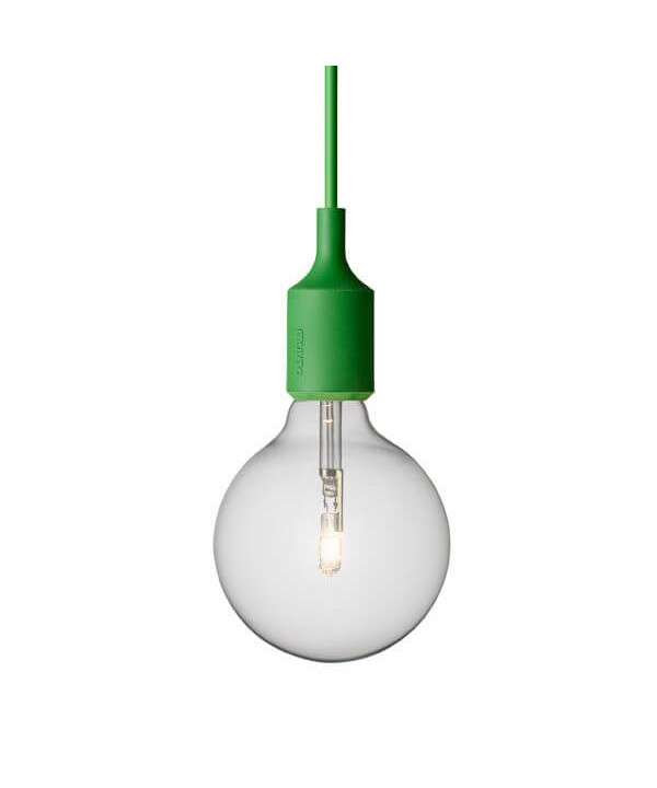E27 Pendel Halogen Green - Muuto