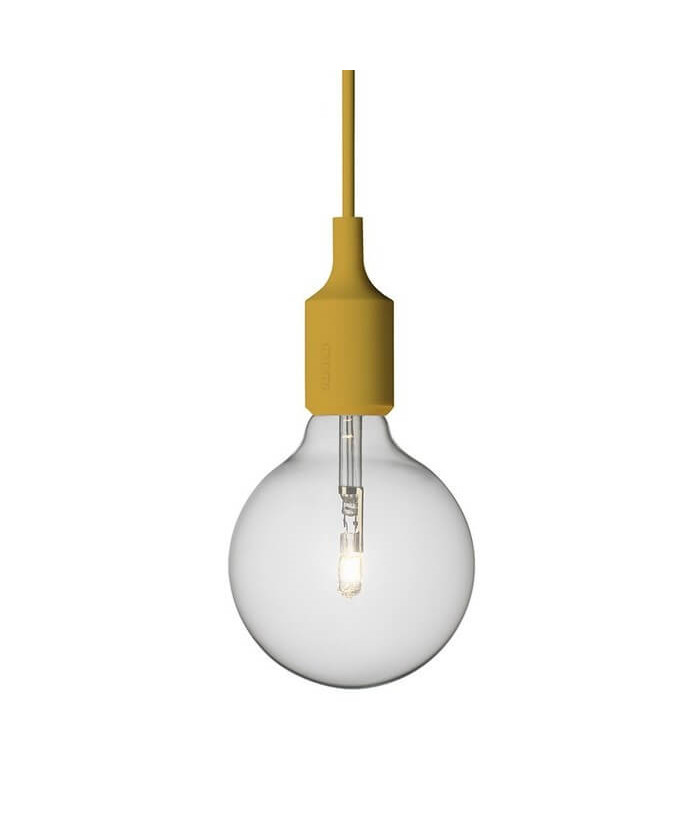 E27 Pendelleuchte Halogen Yellow - Muuto