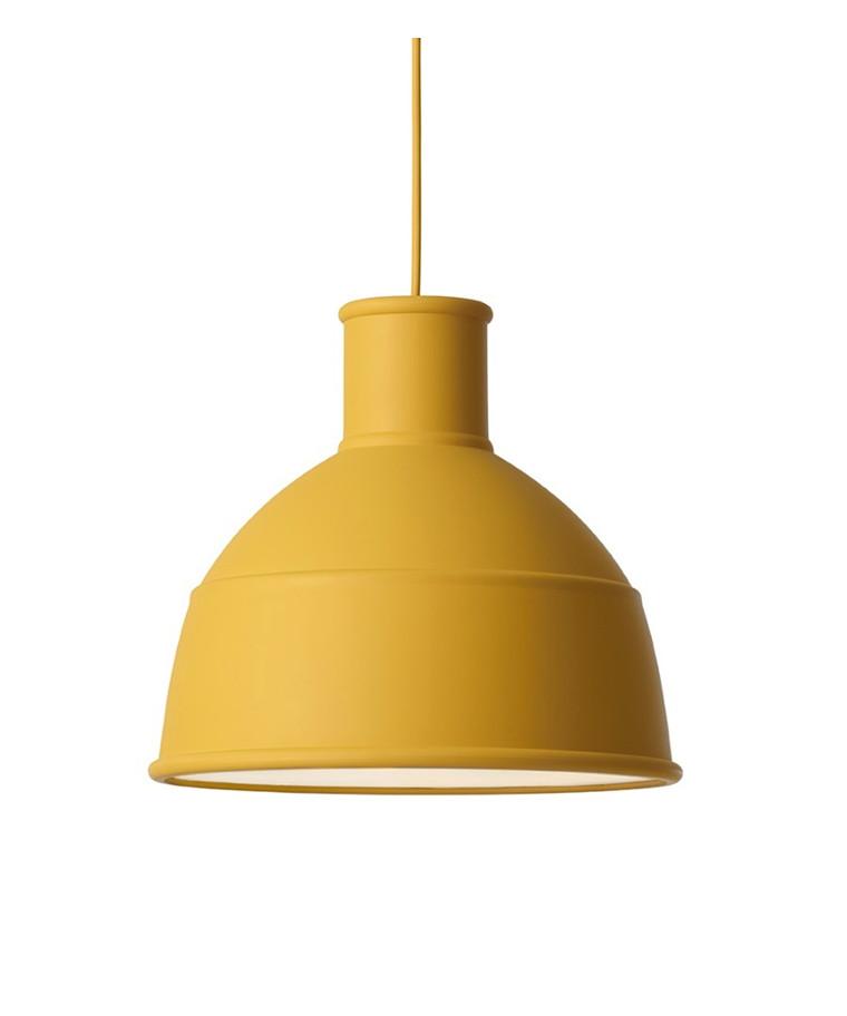 Unfold Taklampa Mustard - Muuto