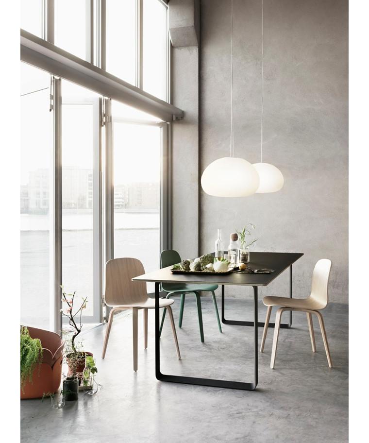 fluid pendelleuchte 42 opal white muuto. Black Bedroom Furniture Sets. Home Design Ideas