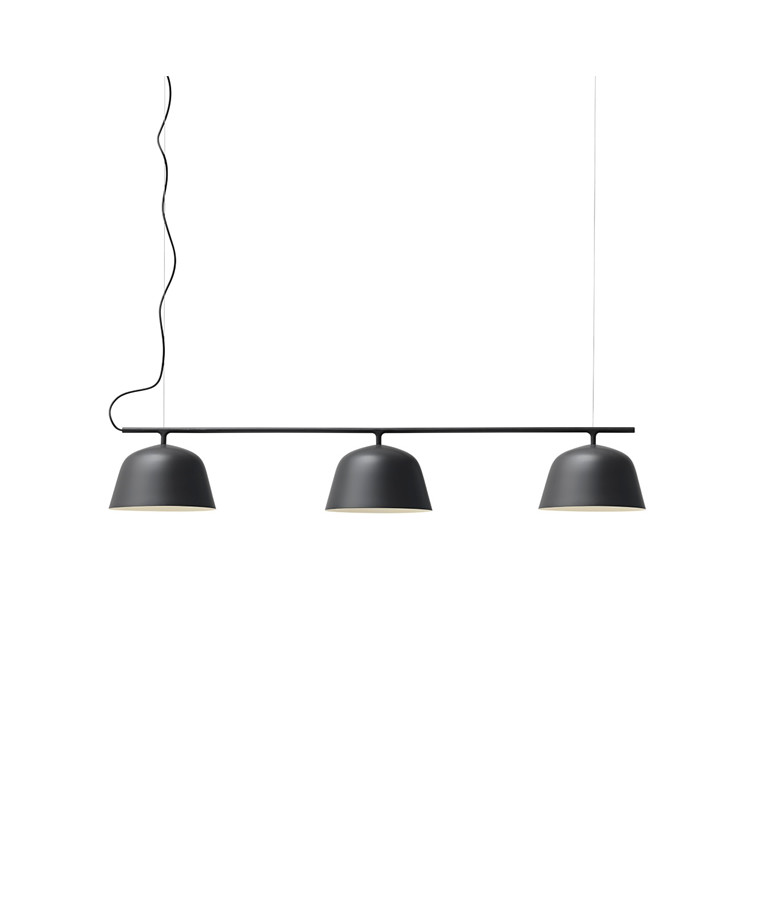 Ambit Rail Taklampa Black - Muuto