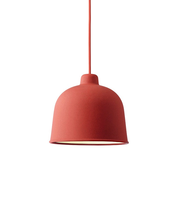 Grain Pendel Dusty Red - Muuto