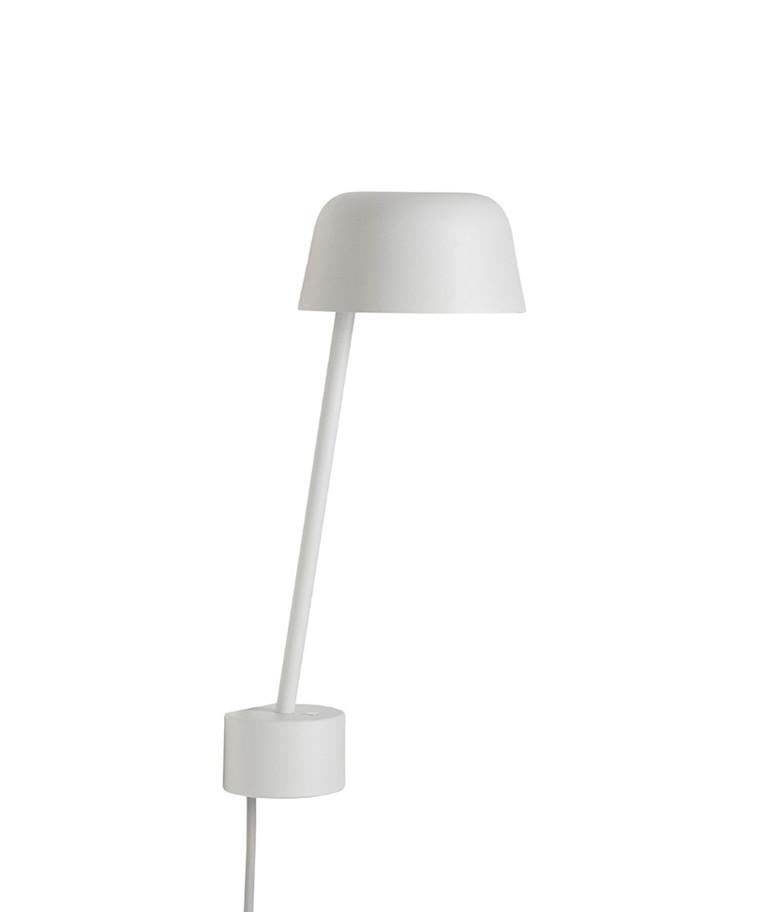 Lean Væglampe White - Muuto