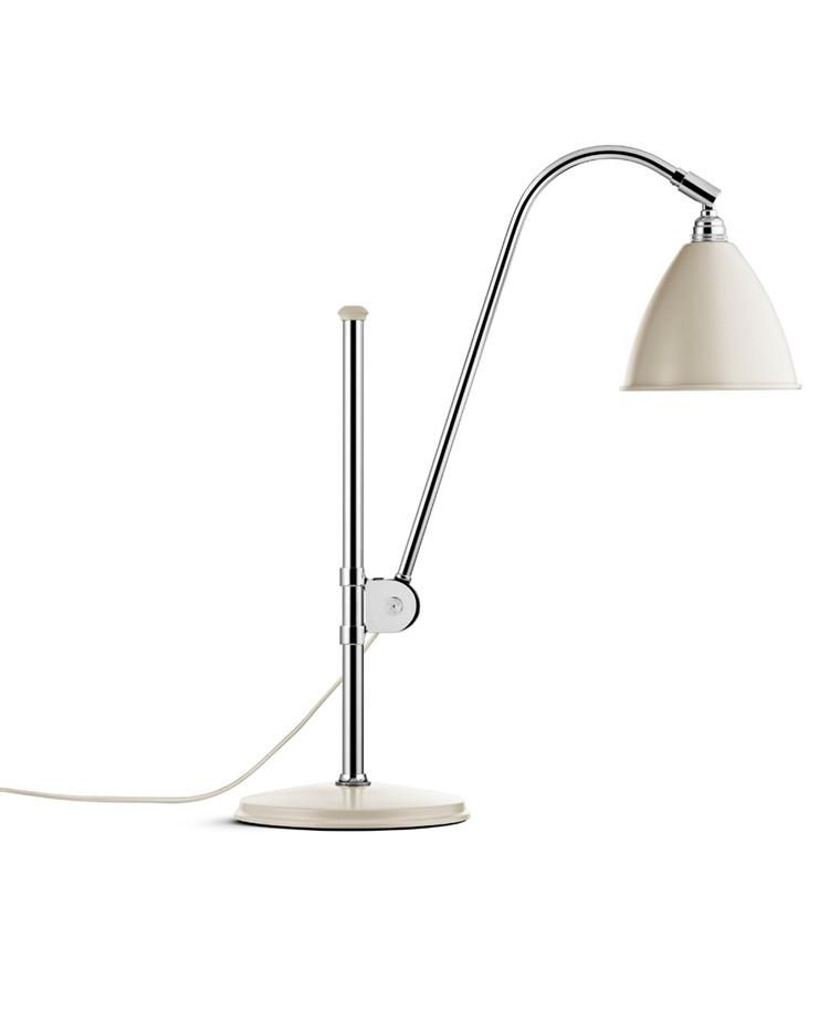 Bestlite BL1 Bordlampe Ø16 Krom/Off-Hvid - GUBI