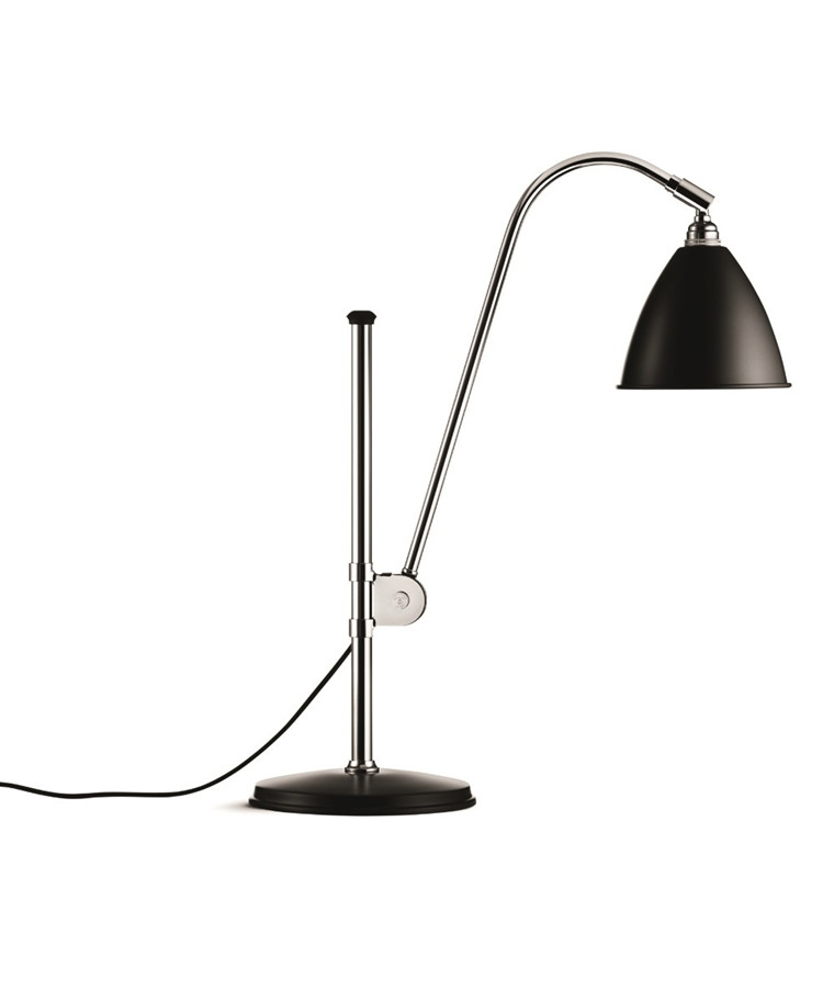 Bestlite BL1 Bordlampe Ø16 Krom/Sort - GUBI