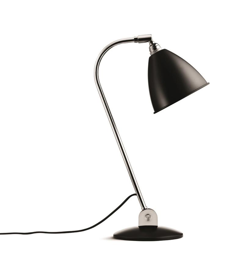 Bestlite BL2 Bordlampe Ø16 Krom/Svart - GUBI