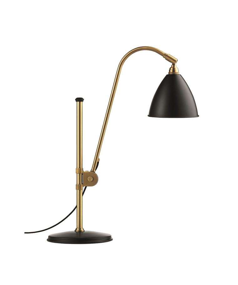 Bestlite BL1 Bordlampe Ø16 Messing/Sort - GUBI