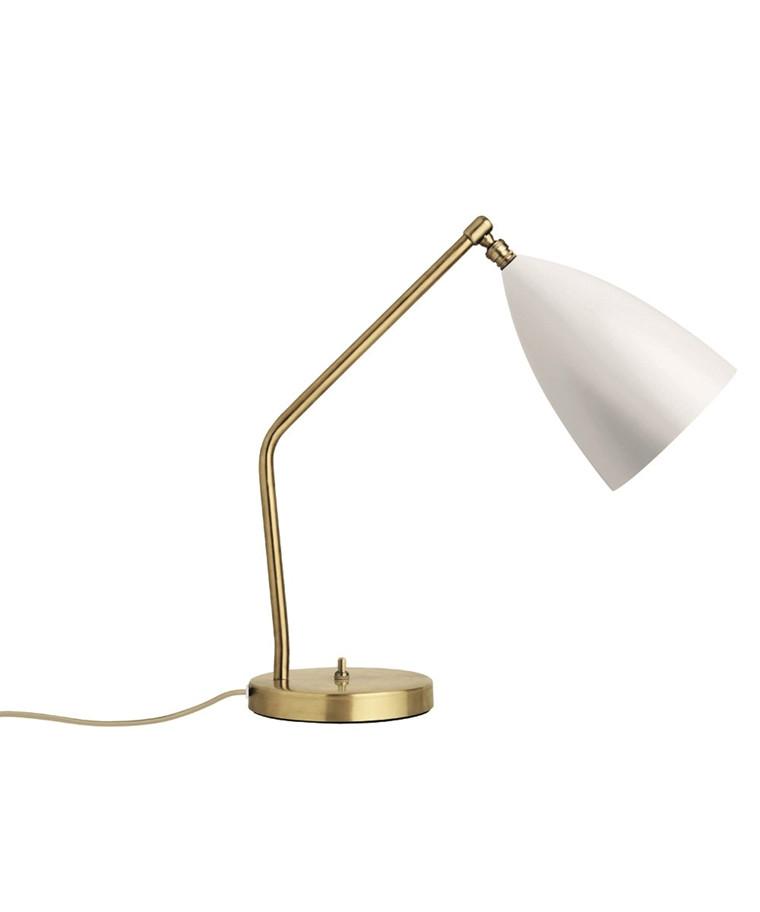 Gräshoppa Bordlampe Matt Hvit - GUBI