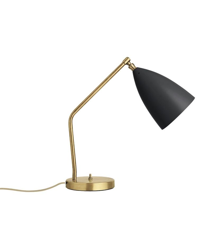 Gräshoppa Bordlampe Antrasitt Grå - GUBI