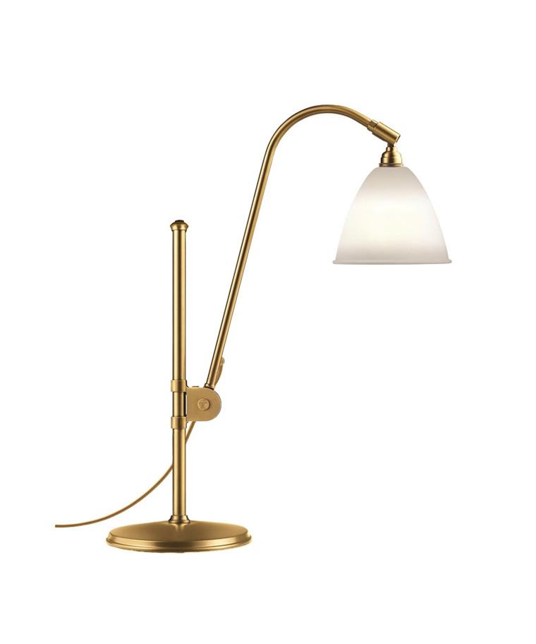 Bestlite BL1 Bordlampe Ø16 Messing/Porcelæn - GUBI