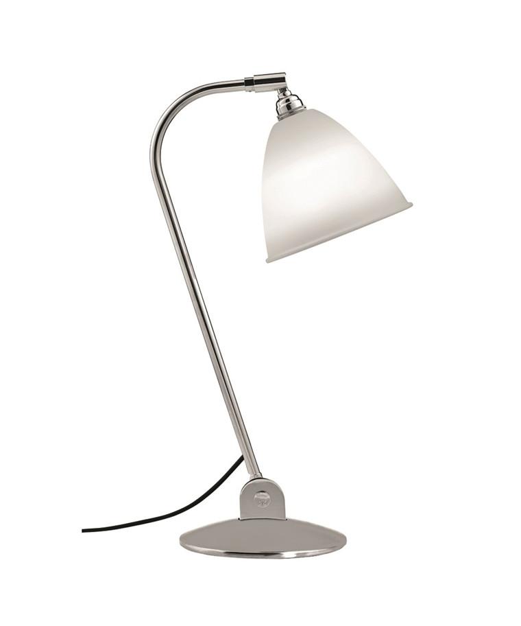 Bestlite BL2 Bordlampe Ø16 Krom/Porcelæn - GUBI