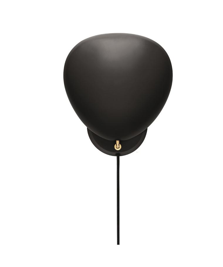 Cobra Væglampe Jet-Black - GUBI