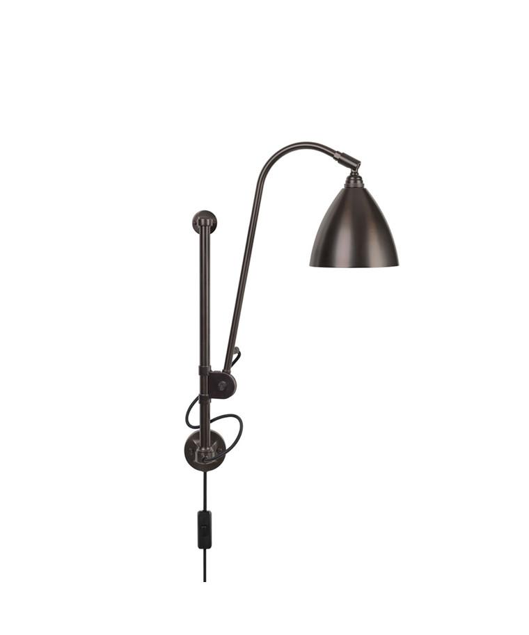 BL5 Væglampe Ø16 Sort Messing/Sort Messing - GUBI