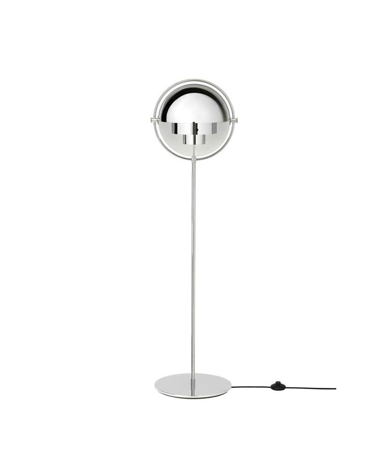 Multi-Lite Gulvlampe Krom/Krom - GUBI - GUBI
