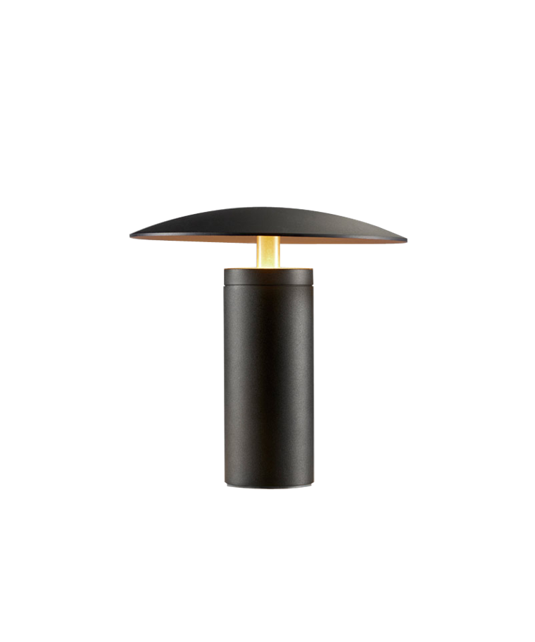 Madison T1 Bordlampe Svart/Gold - LIGHT-POINT