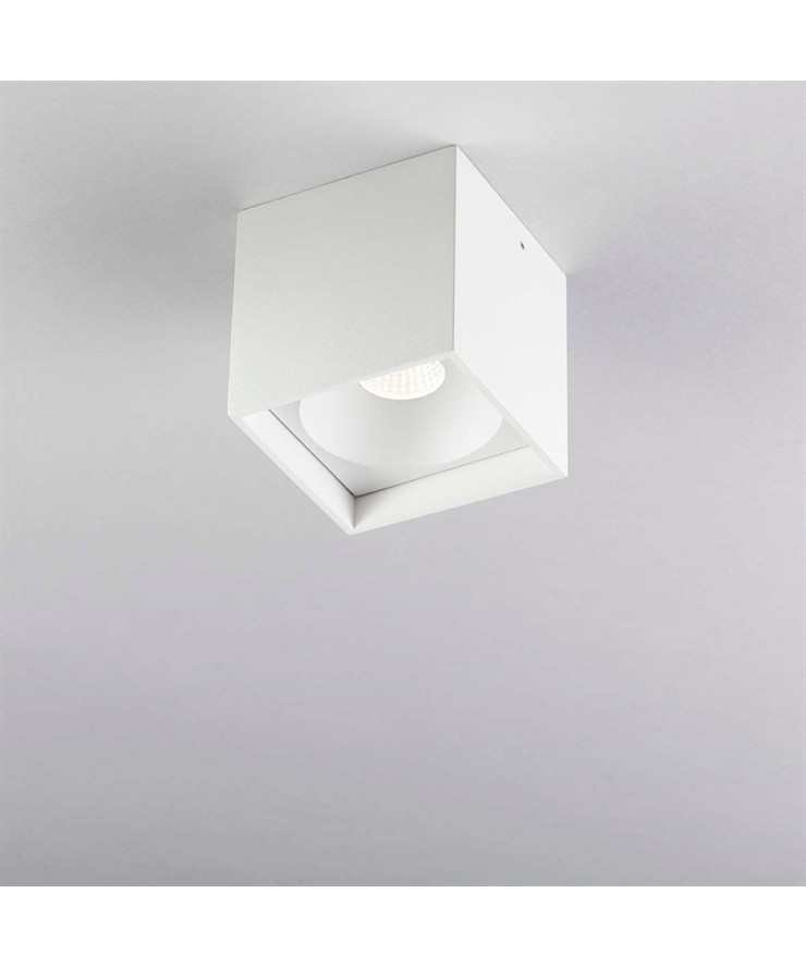 Solo Square Loftlampe LED Hvid - LIGHT-POINT