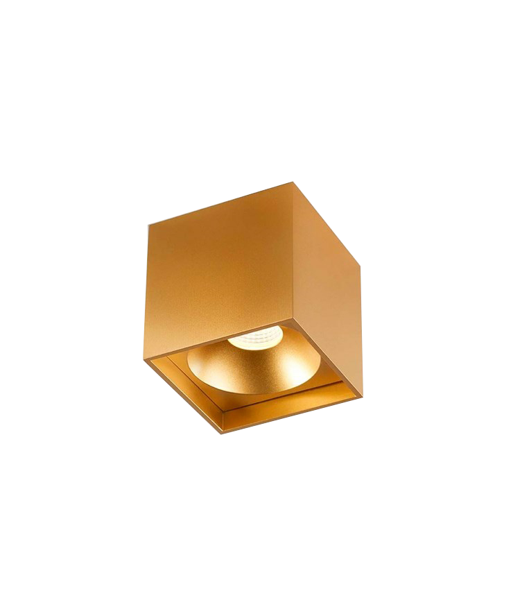Solo Square Loftlampe Guld - LIGHT-POINT