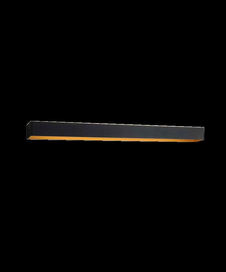 Mood 4 LED Væglampe Sort/Guld - LIGHT-POINT