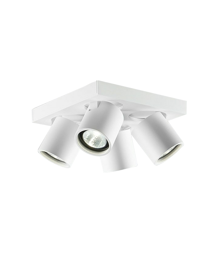 Focus 4 Loftlampe Hvid - LIGHT-POINT