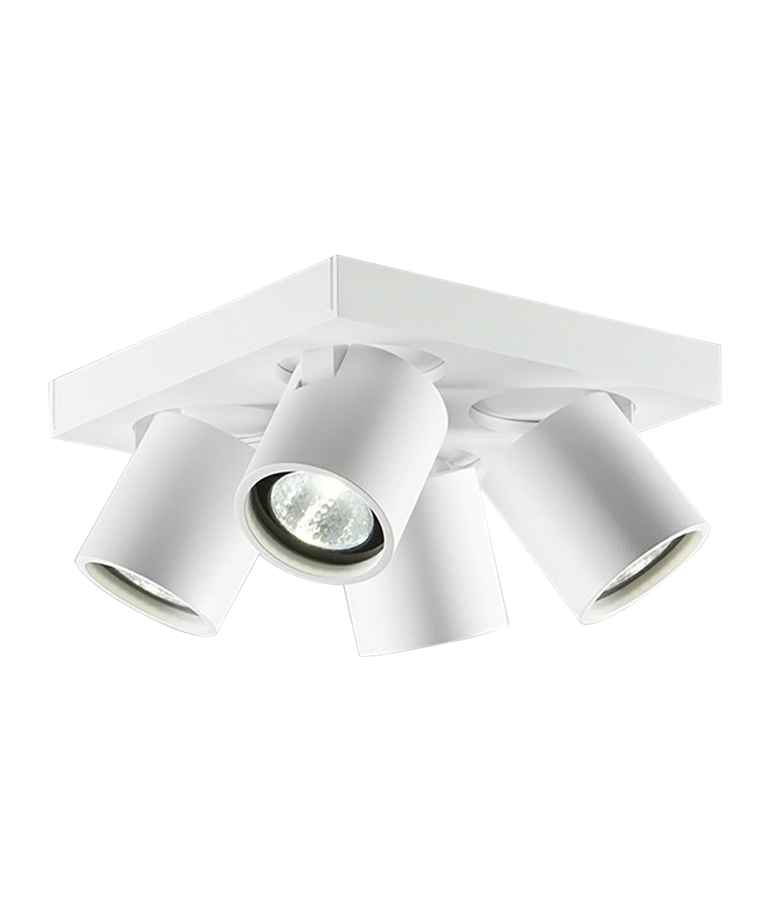 Focus+ 4 Loftlampe Hvid - LIGHT-POINT