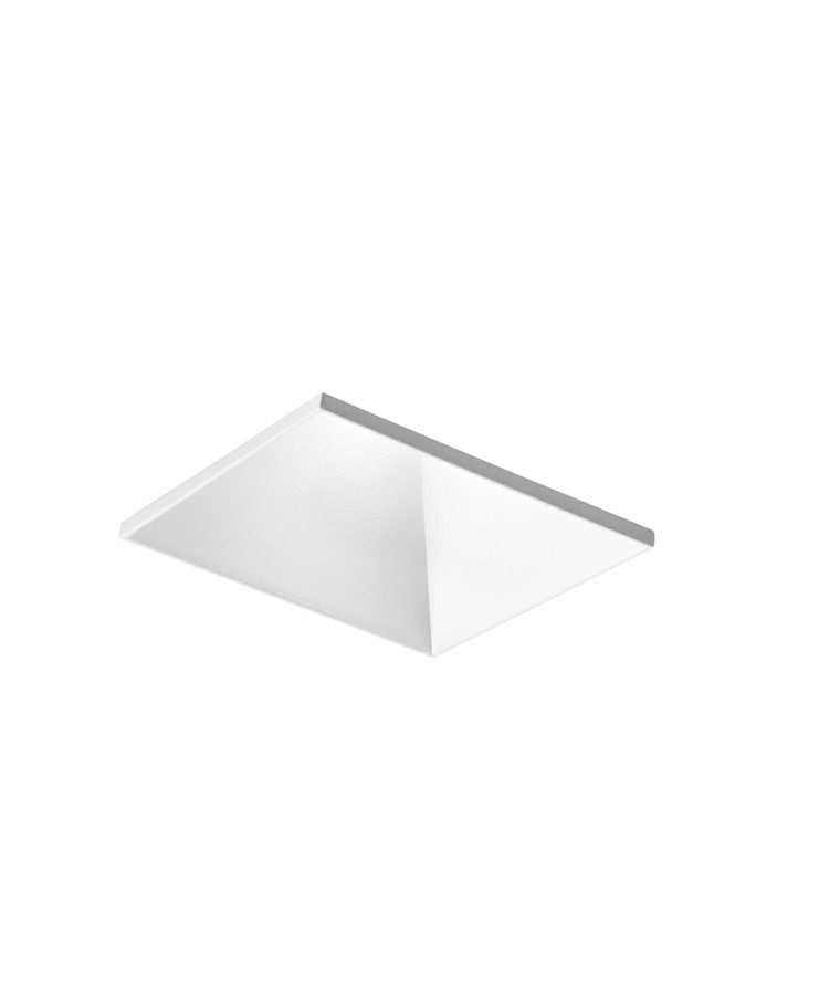 Curve Square Trimless Loftlampe Hvid - LIGHT-POINT