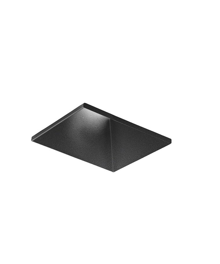 Curve Square Trimless Loftlampe Sort - LIGHT-POINT