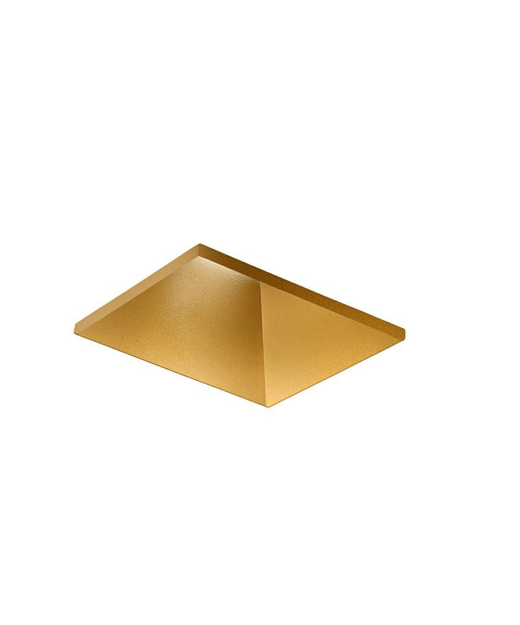 Curve Square Trimless Loftlampe Guld - LIGHT-POINT