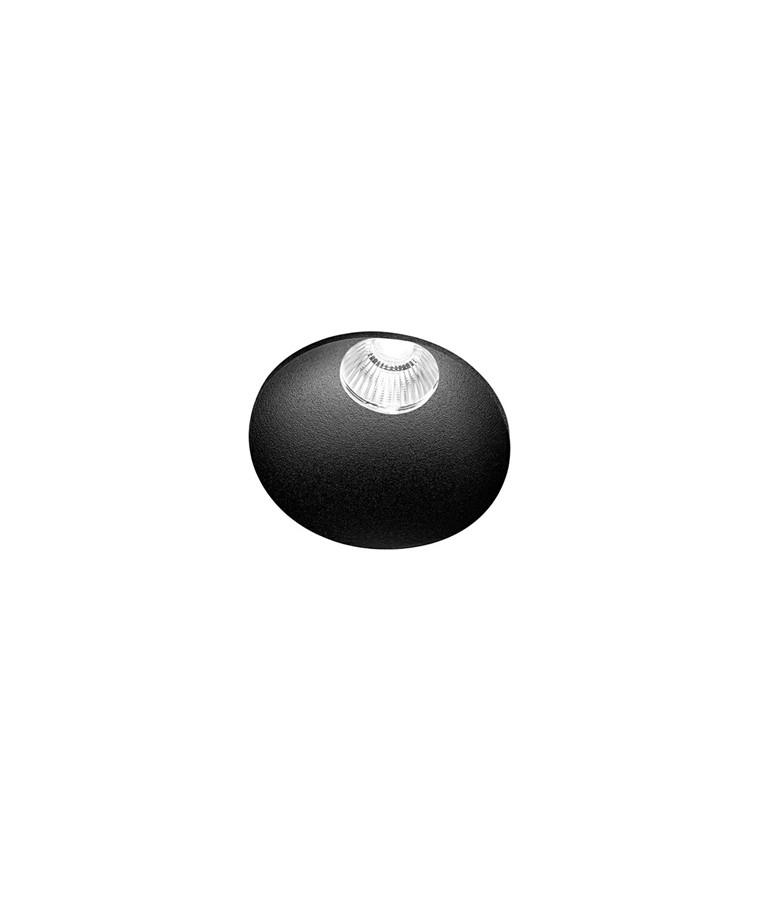 Curve Round Trimless Loftlampe Sort - LIGHT-POINT