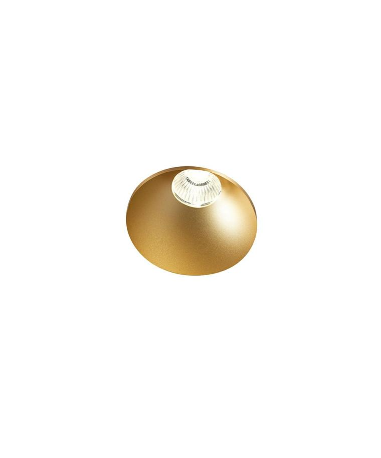 Curve Round Trimless Loftlampe Guld - LIGHT-POINT