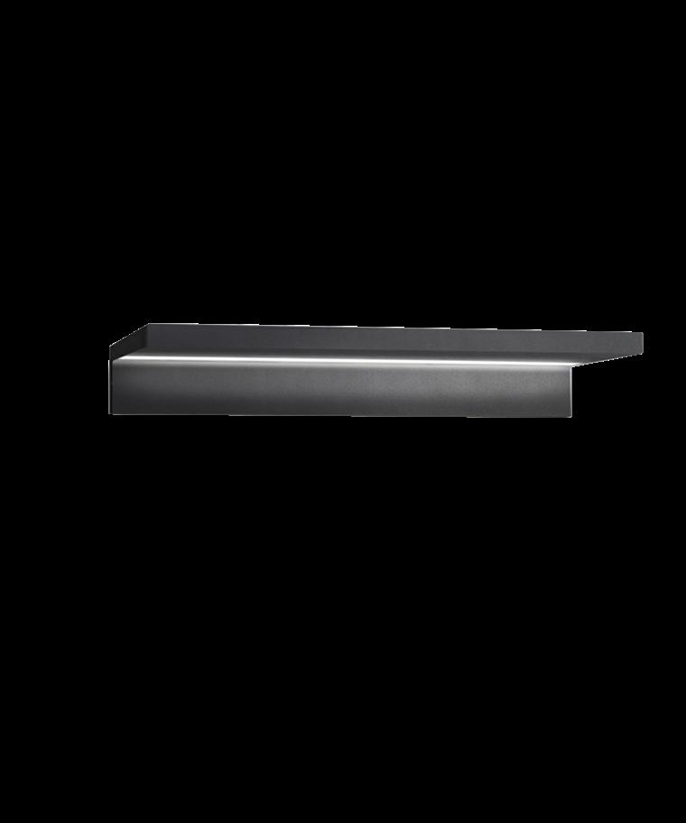 Trix W2 Væglampe Sort - LIGHT-POINT