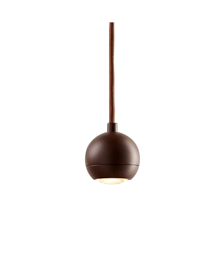 SPY S1 LED Pendel Mocca Ø8cm - LIGHT-POINT