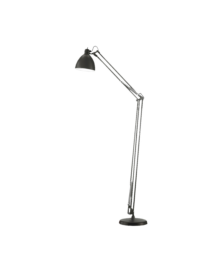 Archi F1 Gulvlampe Ø16mat Sort Inkl. Base - LIGHT-POINT