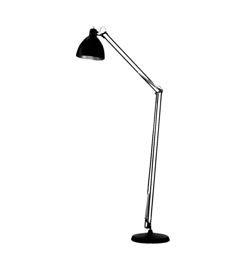 Archi F2 Gulvlampe Ø22 Mat Sort - LIGHT-POINT