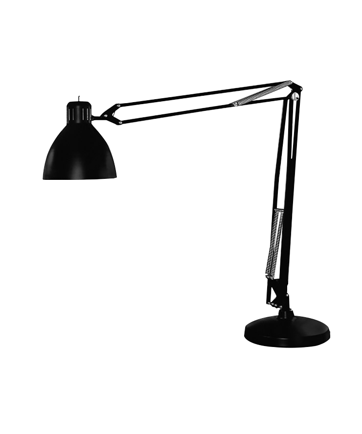 Archi Grande Gulvlampe Udendørslampe Sort - LIGHT-POINT