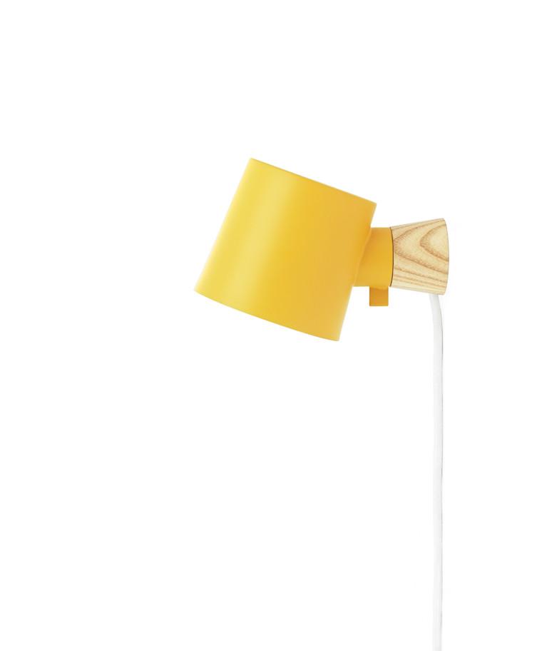 Rise Væglampe Gul - Normann