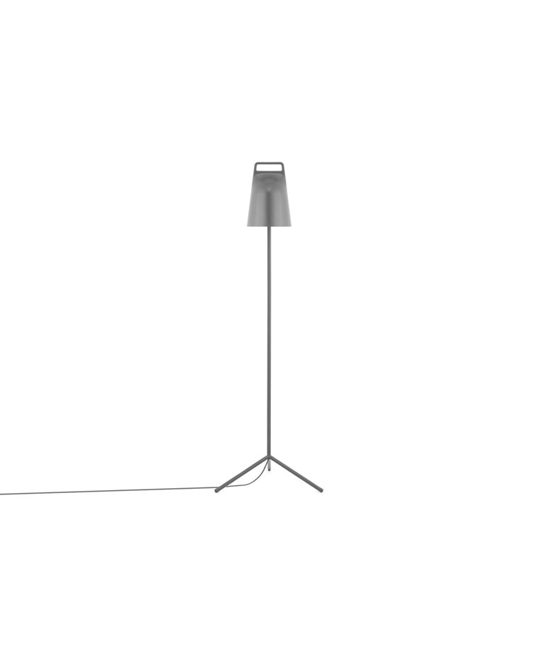 Stage Gulvlampe Grå - Normann