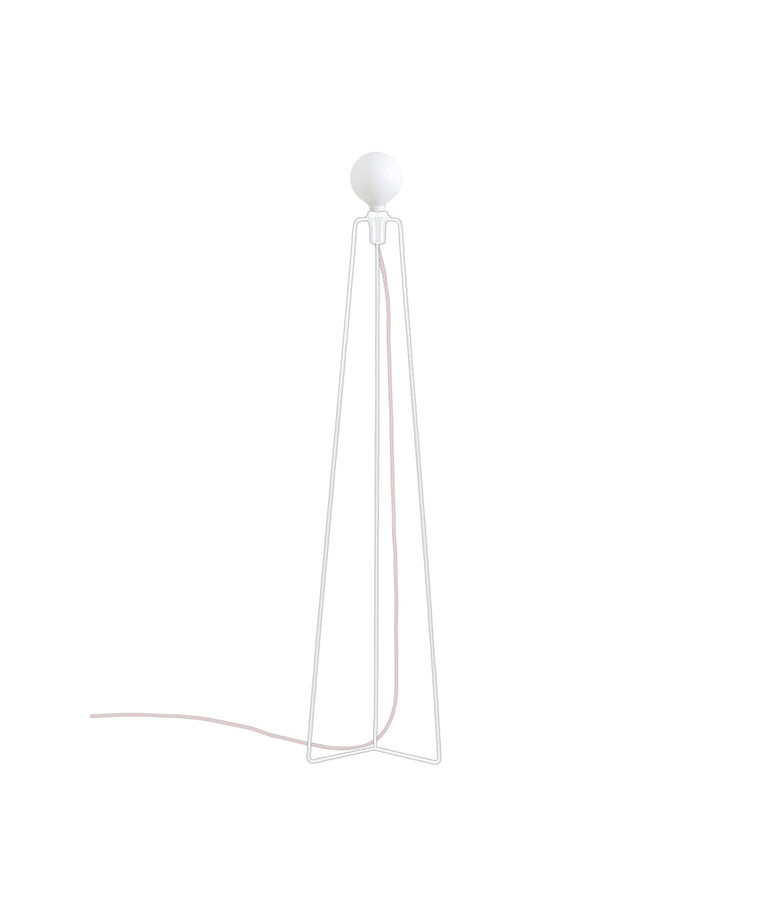 Model 3 Gulvlampe Hvid - Grupa Products