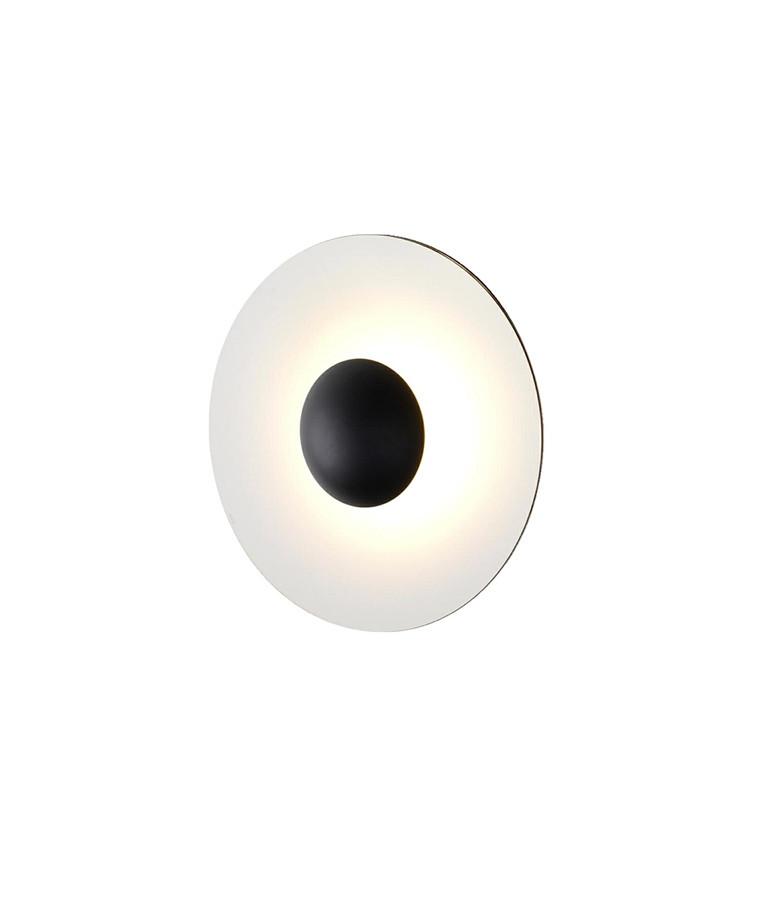 Ginger 32 C Væglampe Wenge-White - Marset