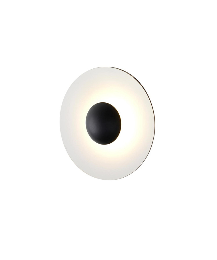 Ginger 60 C Væglampe Oak-White - Marset