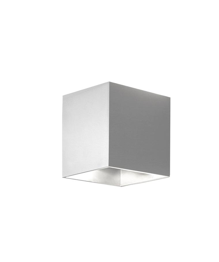 Copenhagen Square Utendørs Vegglampe Hvit - Aros Design