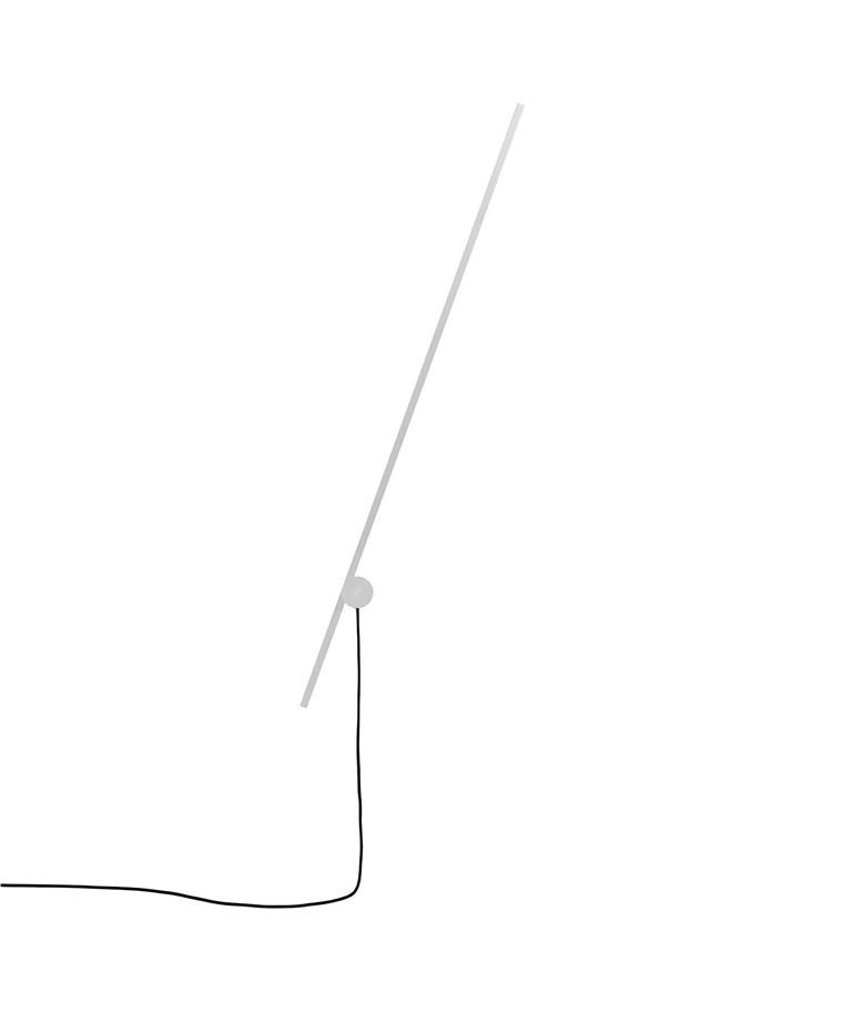 Um Væglampe Hvid - Lumini