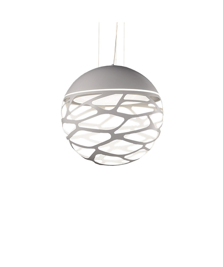 Kelly SO2 Small Sphere Taklampa Vit - Studio Italia Design