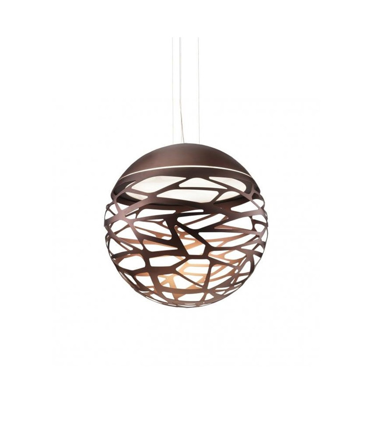 Kelly SO2 Small Sphere Taklampa Brons - Studio Italia Design