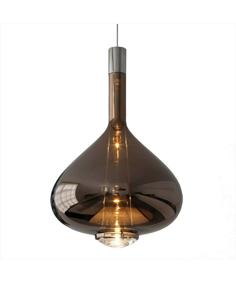 Skyfall SO Taklampa Large Koppar Glas - Studio Italia Design