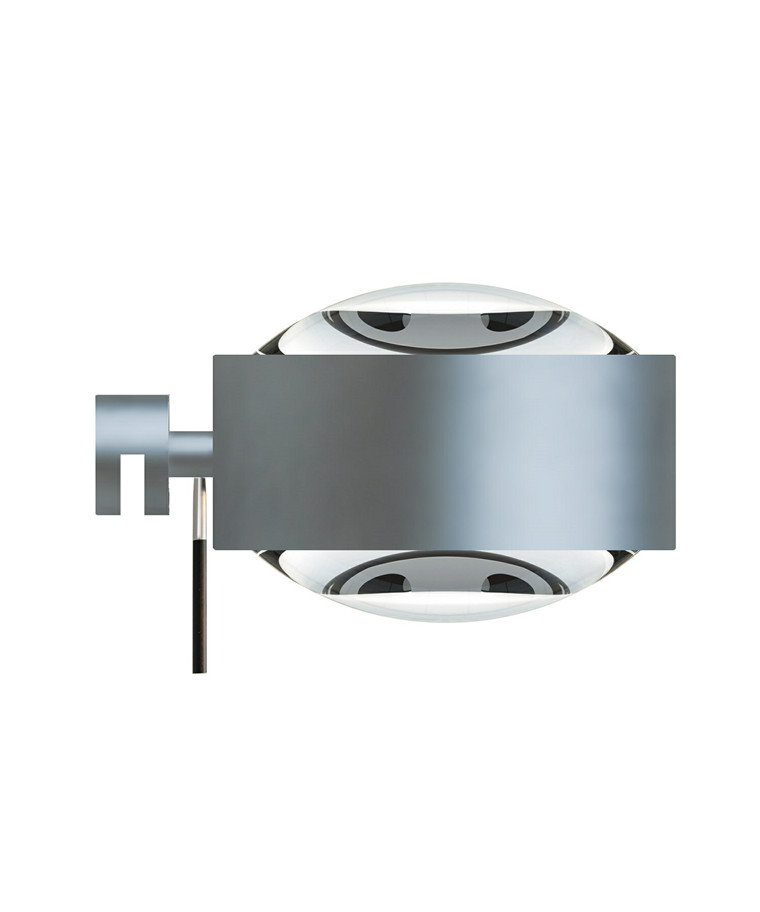 Puk Maxx Vegglampe Halogen Lens + Lens Mat Krom - Top Light