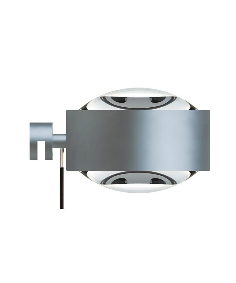 Puk Maxx Væglampe Halogen Lens + Lens Mat Krom - Top Light