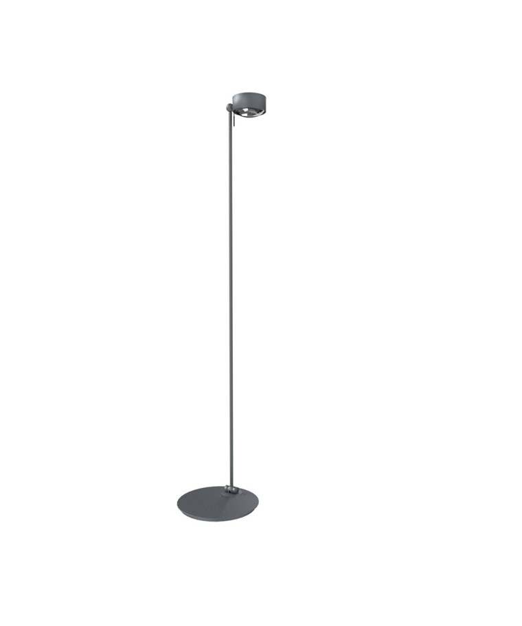 Puk Maxx Mini Gulvlampe Mat Krom - Top Light