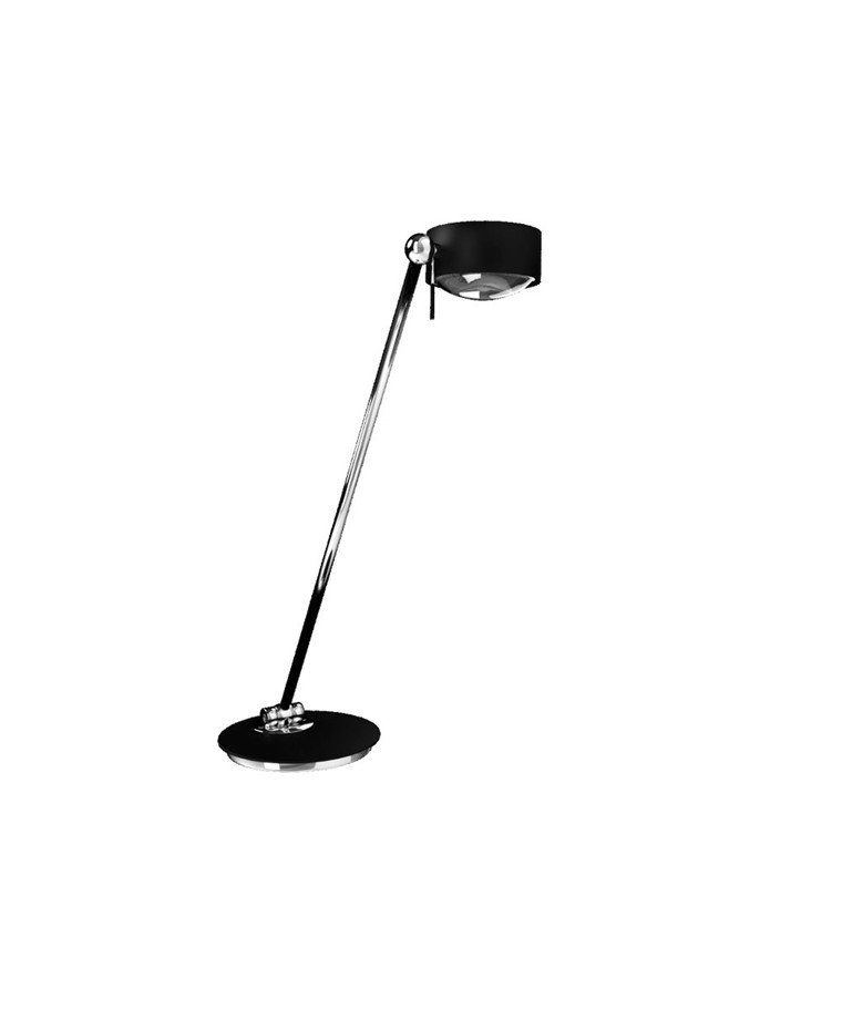 Puk Maxx Single LED Bordlampe Sort - Top Light