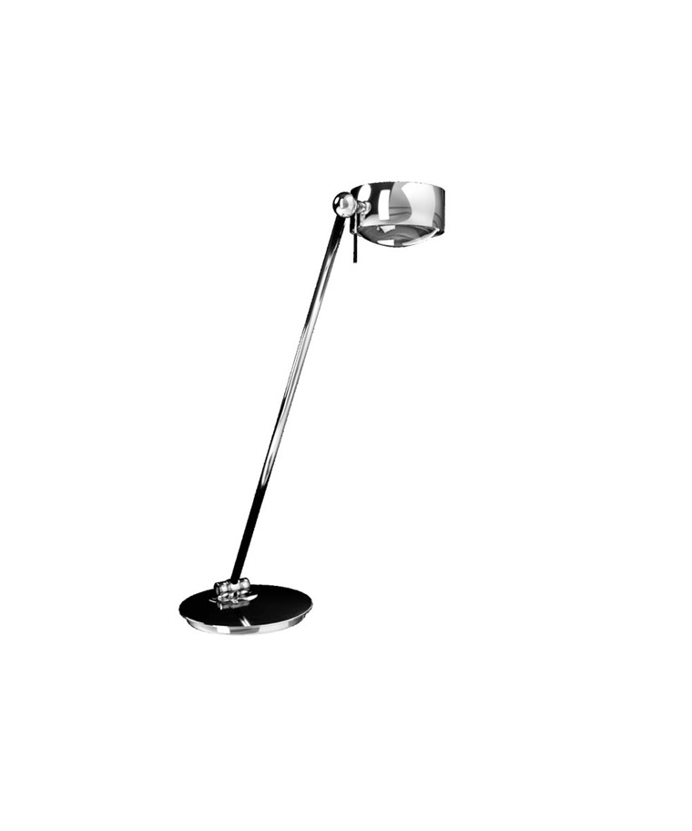 Puk Maxx Single LED Bordlampe Krom - Top Light