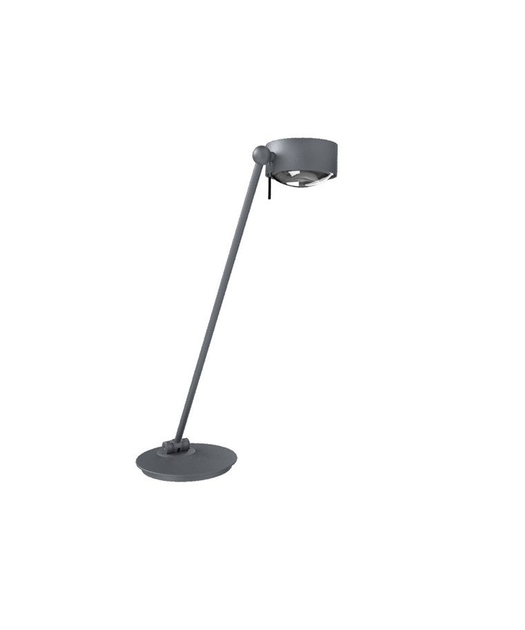 Puk Maxx Single LED Bordlampe Mat Krom - Top Light